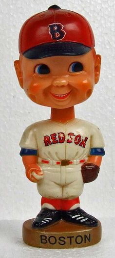 Vintage 1974 Boston Red Sox Bobble Head Nodder by AGOLFR on Etsy, $15.00