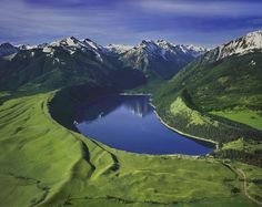 Wallowa Lake in Oregon...