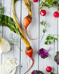 There are few things as beautiful as fresh vegetables.