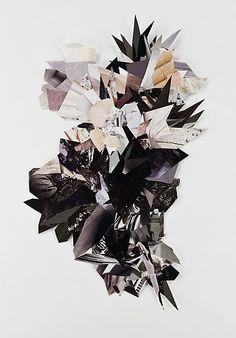 natalie collette wood. fashion magazine art.