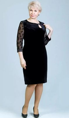 Стильные платья для женщин 50+ | Океан Красоты | Яндекс Дзен