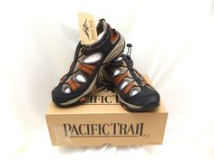 Pacific Trail Chaski Sandals Men's Shoes Size 9 Outdoor Active Watersport Hiking #PacificTrail #Sandals
