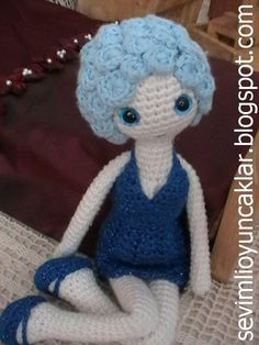 Amigurumi Summer Doll