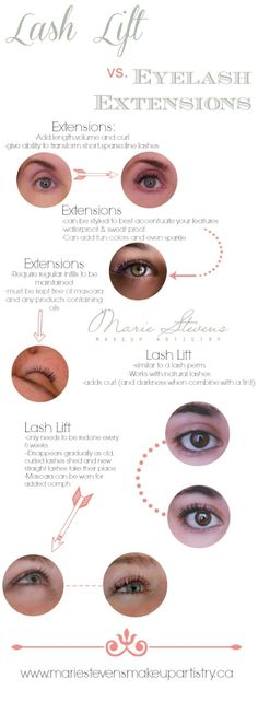 Eyelash Extensions What's the difference? Which would best suit your lifestyle? Curl Lashes, Long Lashes, Eyelashes, Natural Makeup For Brown Eyes, Lash Perm, Brow Tinting, Eyelash Tinting, Beauty Lash, Eyelash Extensions