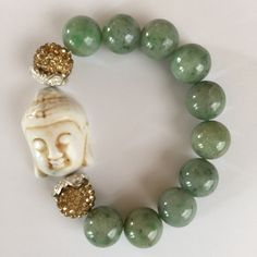 Jade Buddha Bracelet