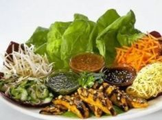 thai lettuce wraps for the cheese cake factory