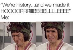 Stupid Funny Memes, Haha Funny, Funny Picture Quotes, Funny Pictures, Mathew Baynton, British Memes, Horrible Histories, Uk Tv, History Memes
