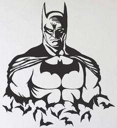 Vinyl Crafts, Vinyl Projects, Art Projects, Batman Silhouette, Silhouette Vector, Batman Poster, Batman Art, Cricut Vinyl, Vinyl Decals