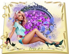 Design Wilds Cat: Vector Iris Collection #3 - 25 Ai Ирисы