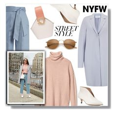 """Win It! NYFW: Street Style"" by the-geek-goddess ❤ liked on Polyvore featuring Vika Gazinskaya, Harris Wharf London, Pour La Victoire, Danse Lente, contestentry and nyfwstreetstyle"