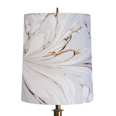 Stone Plume Lampshade in Dark Iris – Rule of Three
