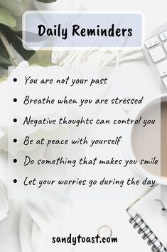 Self Reminder, Daily Reminder, Negative Thinking, Negative Thoughts, Positive Affirmations, Positive Quotes, Reflection Pictures, Routine, Dear Self
