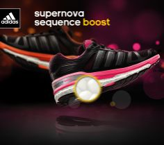 adidas Supernova Sequence Boost, amazing shoe!  http://www.therunningoutlet.co.uk/products/brands/adidas/adidas-supernova-sequence-boost