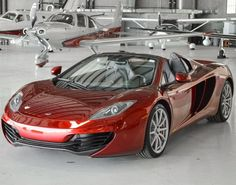 """""""To the private jet please, Jeeves"""" This McLaren MP4 12C is pure luxury #FastandFuriousFriday"""