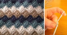 FACILE CECILE    This tutorial will show you how to crochet a catherine wheel or starburst stitch blanket / afghan / throw. This patter...