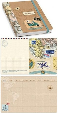 I took this planner on my year-long overseas adventure. It was a fabulous compact companion. Loved it!!!  --- Bon Voyage Travel Planner