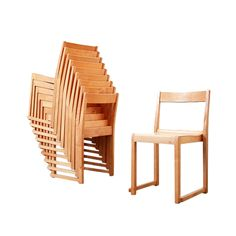 1stdibs.com   Sven Markelius Ten children stacking chairs, Bodafors 1932