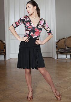 Espen for Chrisanne Clover Bali Latin Skirt | Dancesport Fashion @ DanceShopper.com