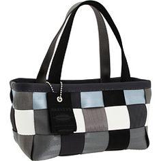 Harveys Seatbelt Bag - Silver Screen Boxy