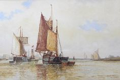 Buy Frederick James Aldridge On the River Adur and other Victorian paintings and watercolours at James Alder Fine Art Victorian Paintings, Fine Art, River, Artists, Collection, Visual Arts, Rivers, Artist