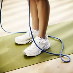 Need a winter #workout? Jump rope for 5 minutes and burn 68 calories! #fitness #fatburn | Health.com