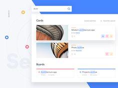 Trello Atlassian - Search by Serge Soskowiec #Design Popular #Dribbble #shots