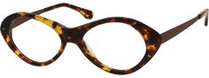 7815 Acetate Full-Rim Frame with Stainless Steel Temples