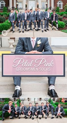 Perfectly paired with grays, navy or even black, petal pink is a subtle, brilliant accent for weddings. Consider dressing your groomsmen in a light pink (petal) sock that is sure to match your bridesmaid dresses and their vests and ties. Give the wedding party something bold. Give them Statement Socks. Plus, every pair purchased provides 100 days of clean water for someone in Africa. Shop these and more wedding socks. Photography by http://leahbarryphotography.com/