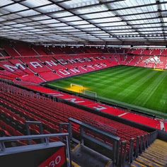 """The press conference will be held in Beckham's home stadium--Old Trafford """"Theatre of Dreams"""" Manchester United Stadium Soccer Stadium, Football Stadiums, Manchester United Stadium, Manchester Uk, Bobby Charlton, Best Football Team, British Football, Official Manchester United Website, Premier League Champions"""