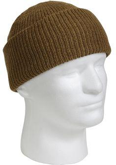 b6c24fd9a63 Genuine Military 100% Wool Watch Cap GSA Compliant Beanie Cap USA MADE.  Weather SnowSki HatsNavy ...
