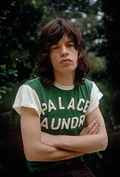 Mick Jagger of the Rolling Stones photographed in Los Angeles. The Rolling Stones, Mick Jagger Rolling Stones, Melanie Hamrick, Georgia May Jagger, Keith Richards, Clint Eastwood, Steven Tyler, Style Année 70, Jim Marshall
