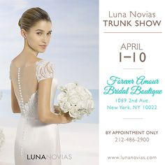 Call ahead to schedule an appointment #ForeverAmourBridalBoutique