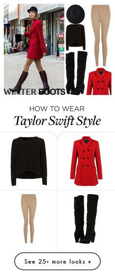 """""""Winter boots"""" by shinepage on Polyvore featuring Dorothy Perkins and Topshop"""