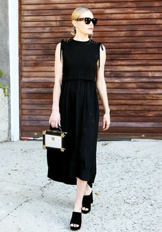 All black with mules.