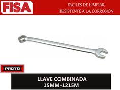 LLAVE COMBINADA 1215MM. Faciles de limpiar resistente a la corrosión-  FERRETERIA INDUSTRIAL -FISA S.A.S Carrera 25 # 17 - 64 Teléfono: 201 05 55 www.fisa.com.co/ Twitter:@FISA_Colombia Facebook: Ferreteria Industrial FISA Colombia