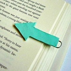 Make a fun reading accessory with clay and a paper clip. Or make a set of them to give as a gift!