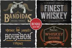 Whiskey Theme Bundle by Vozzy on @creativemarket
