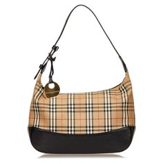 Vintage Burberry Jacquard Nova Check Shoulder Bag b9a16aa3154a4