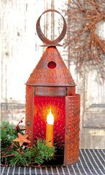 Electrified Rustic Founder's Lantern