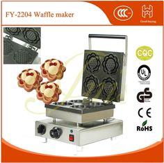 freeshipping Kitchen Baking cake mold machine breadfast machine Sunflower shape waffle maker