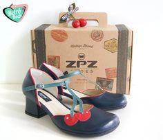.Estilo Retrô Rock. www.retrorock.com.br #60s #retro #cherry #vintageshoes
