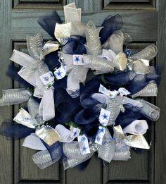 Dallas Cowboys   Fall Wreath   Football by WelcomeHomeWreath, $50.00