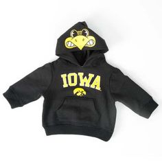 Iowa Hawkeyes Infant/Toddler Herky Pullover Hoodie i wish i could have one :D