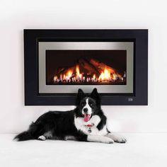 950 Range, Gas Log Fireplace - Rinnai Australia
