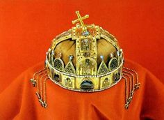 Képeslap: The Hungarian Crown (Magyarország) (Museums) Hungary History, Budapest Hungary, Crown, Museums, 1, Jewelry, Hungary, Corona, Jewlery