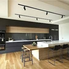 Modern Kitchen Interior Modern kitchens make use of brilliant design and sleek designs to create an outstanding space to prepare, consume and amuse. Search our pick of the best modern kitchen interior design White Wood Kitchens, Cool Kitchens, Elegant Kitchens, Dream Kitchens, Luxury Kitchens, Small Kitchens, Minimalist Kitchen, Minimalist Decor, Minimalist Interior