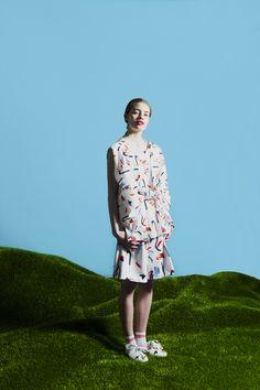 Palaset- top and shorts LAURA GRÖNDAHL graduate collection