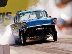 56 Chevy Gasser | Re: Plusieurs photos : Tri-Fives Chevy (1955,1956 et 1957)