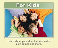 Kids can learn about skin and sun protection at KidsSkinHealth.org from the American Academy of Dermatology.