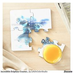 Incredible Dolphins Coaster Puzzle Puzzle Coaster